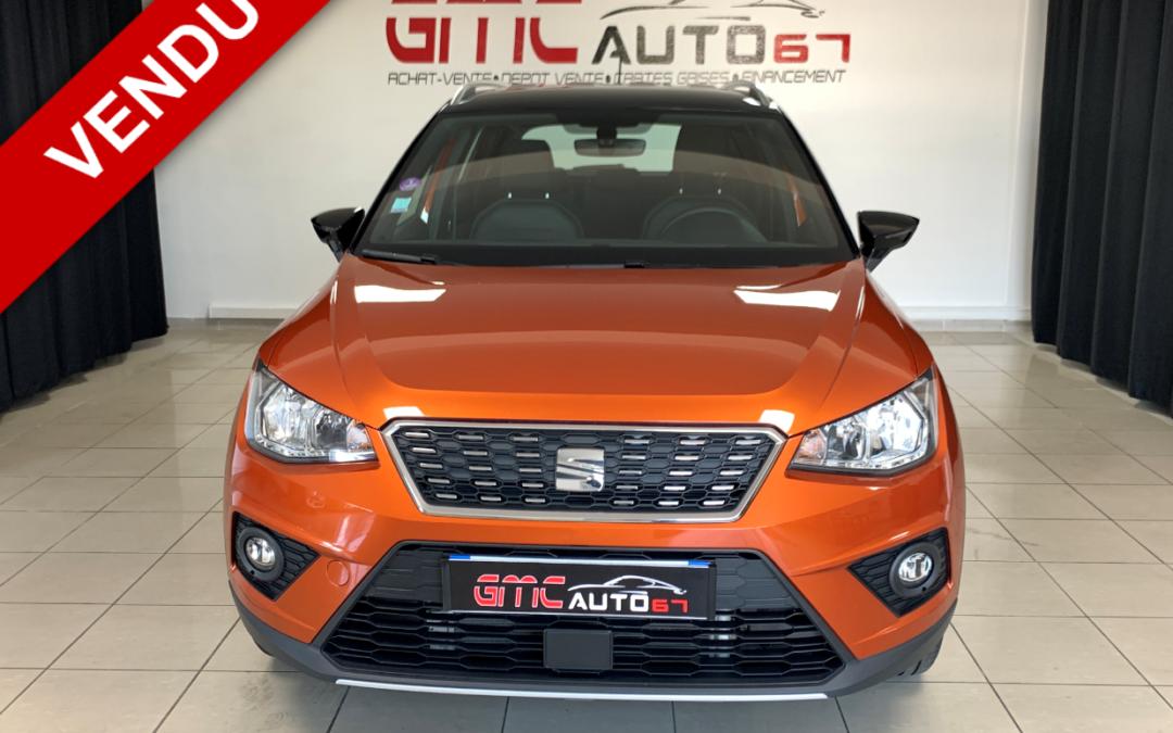 SEAT ARONA 1.0 ECO TSI 115 DSG7 XCELLENCE – 2018