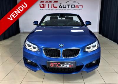 BMW SERIE 2 CABRIOLET F23 CABRIOLET 220D M SPORT 190 – 2018