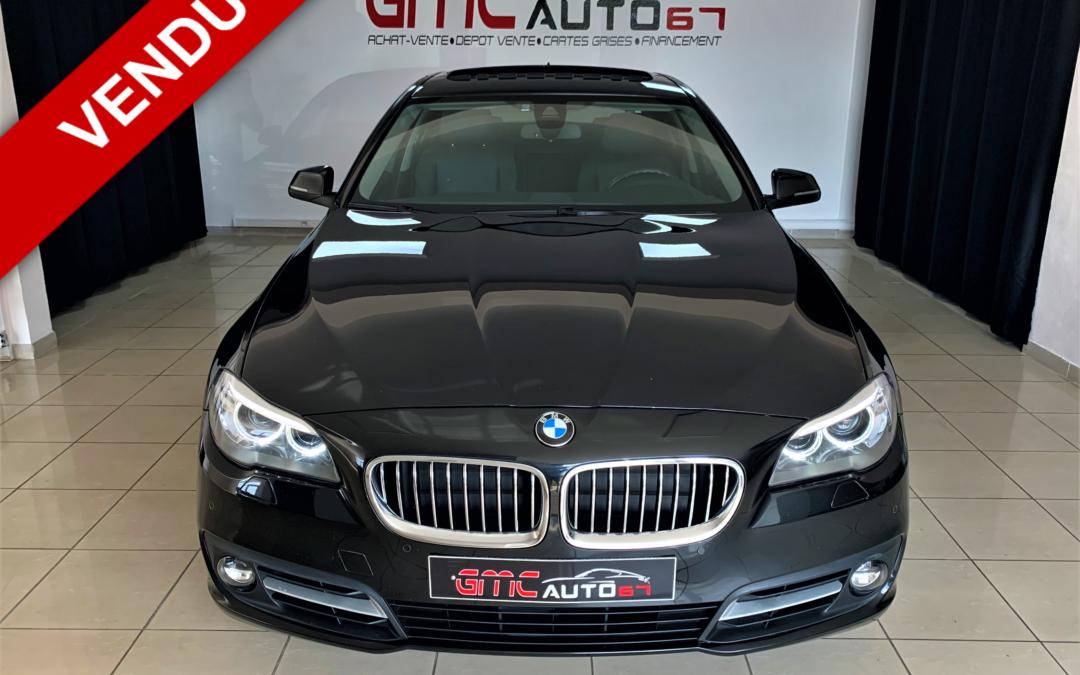 BMW SERIE 5 F10 LCI 520D 190CH LOUNGE PLUS BVA – 2016