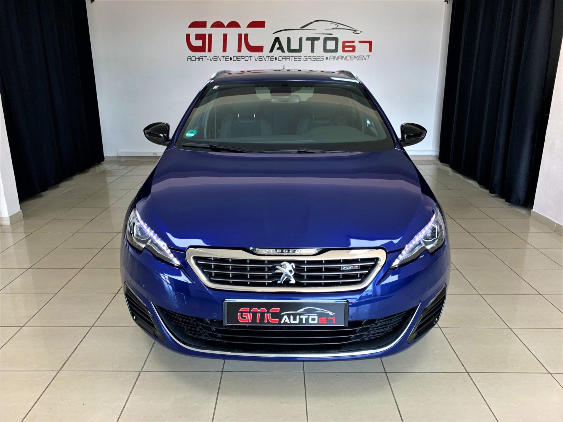 Peugeot 308 SW 2.0 BlueHDi 180ch S&S EAT6 GT break - GMC AUTO 67