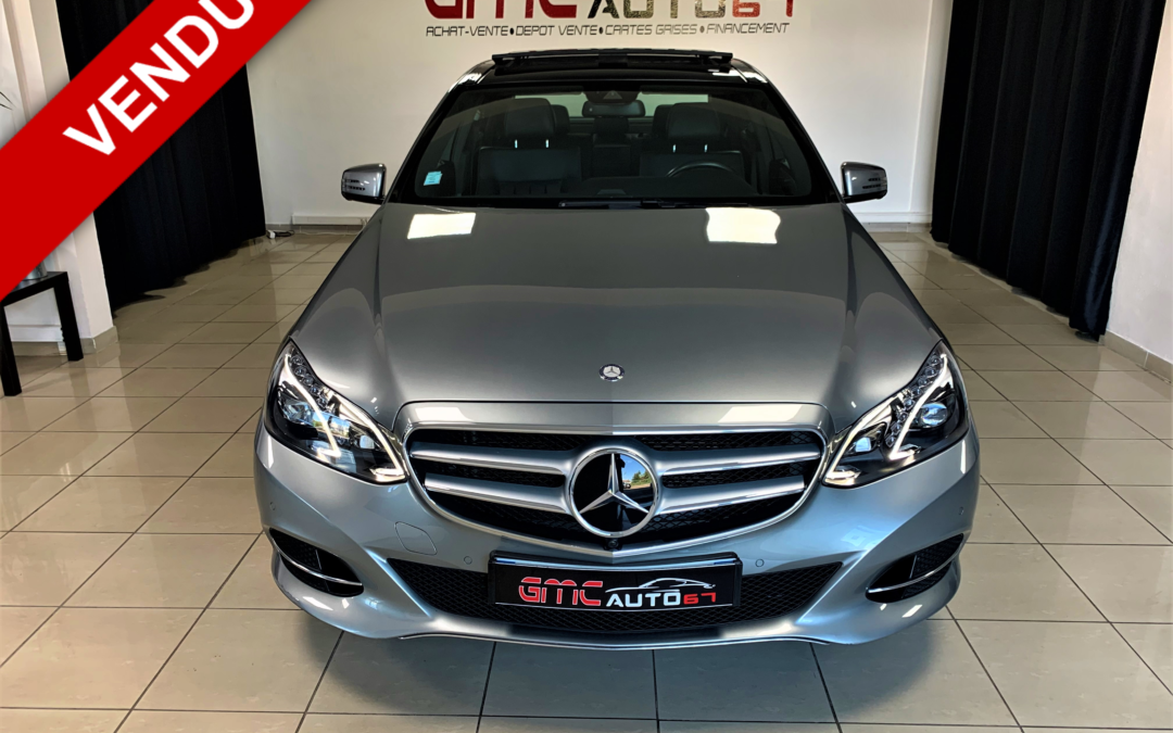 MERCEDES CLASSE E 300 BlueTEC HYBRID EXECUTIVE A – 2015
