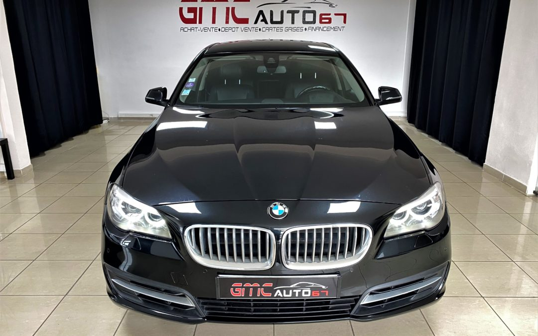 BMW SERIE 5 F10 LCI ActiveHybrid 340 ch LOUNGE PLUS BVA – 2016