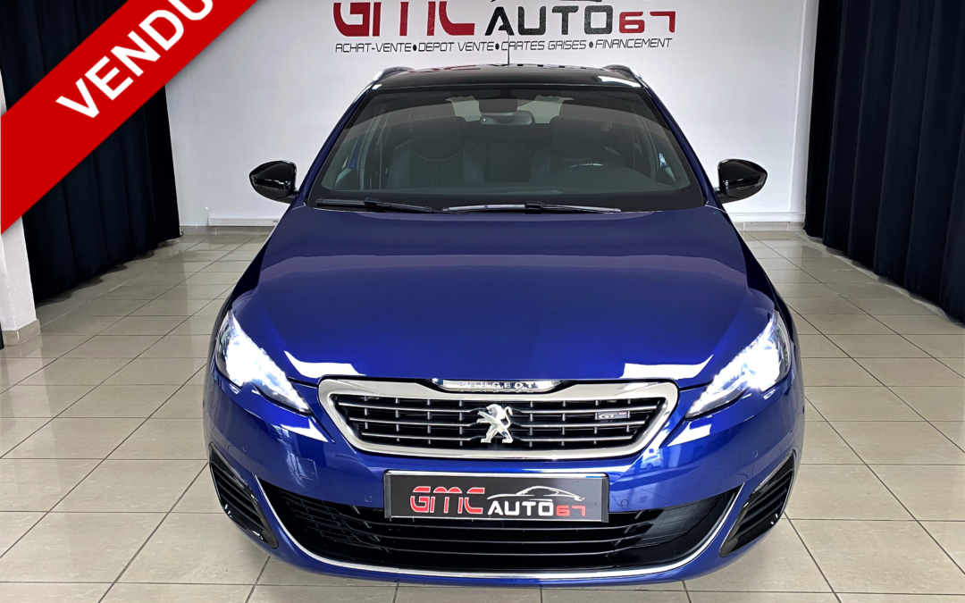 PEUGEOT 308 SW 2.0 BLUEHDi 180CH S&S EAT6 GT – 2016