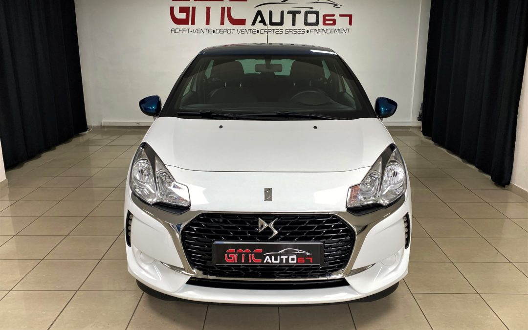 DS3 PURETECH 82 BVM5 BE CHIC – 2018