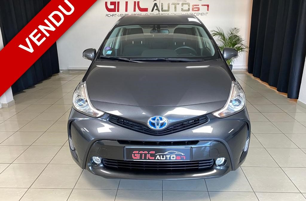 TOYOTA PRIUS+ 1.8 DYNAMIC BUSINESS 7 PLACES 136CH – 2017